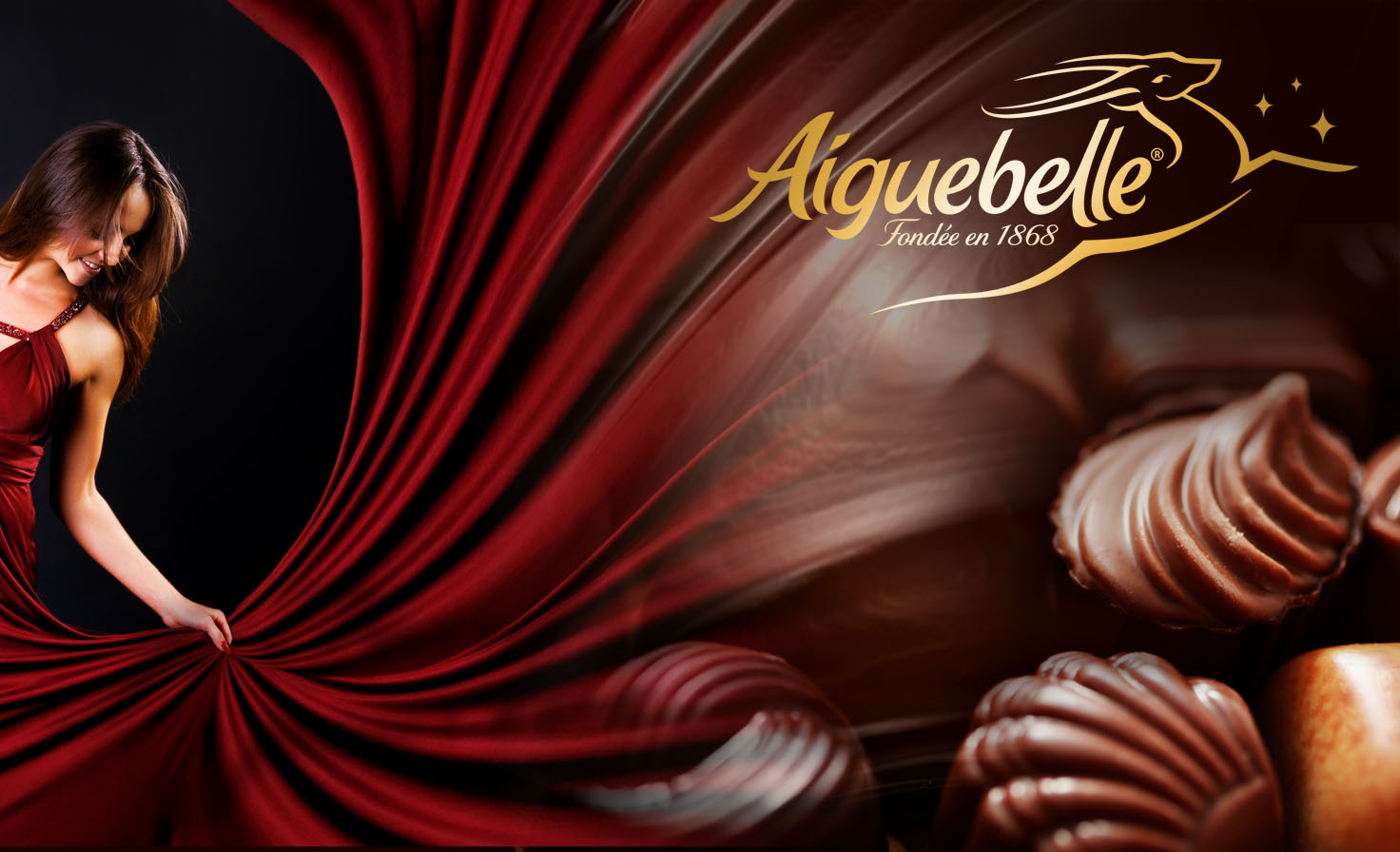 Affiche Chocolat Aiguebelle