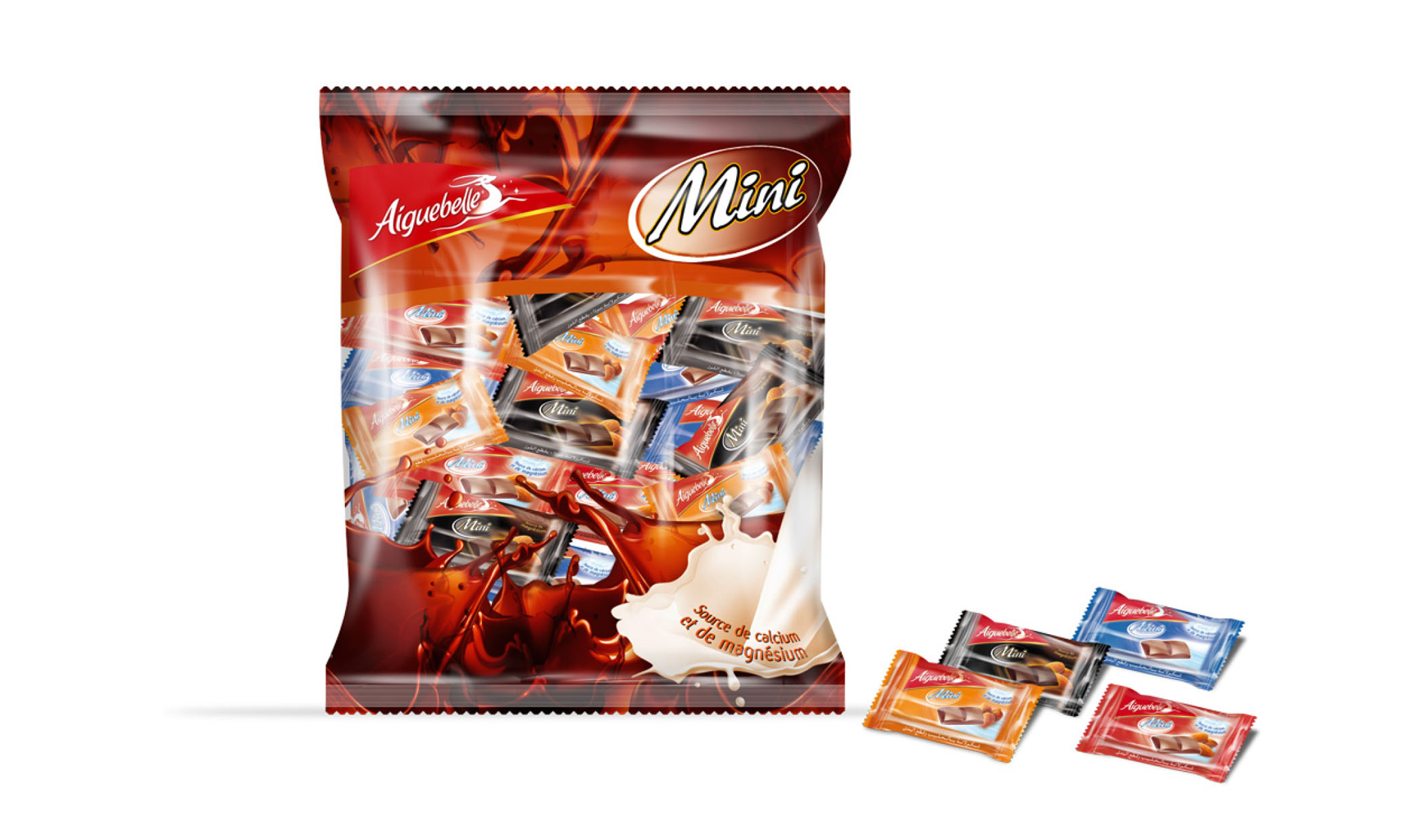 Packaging Chocolat Mini Aiguebelle