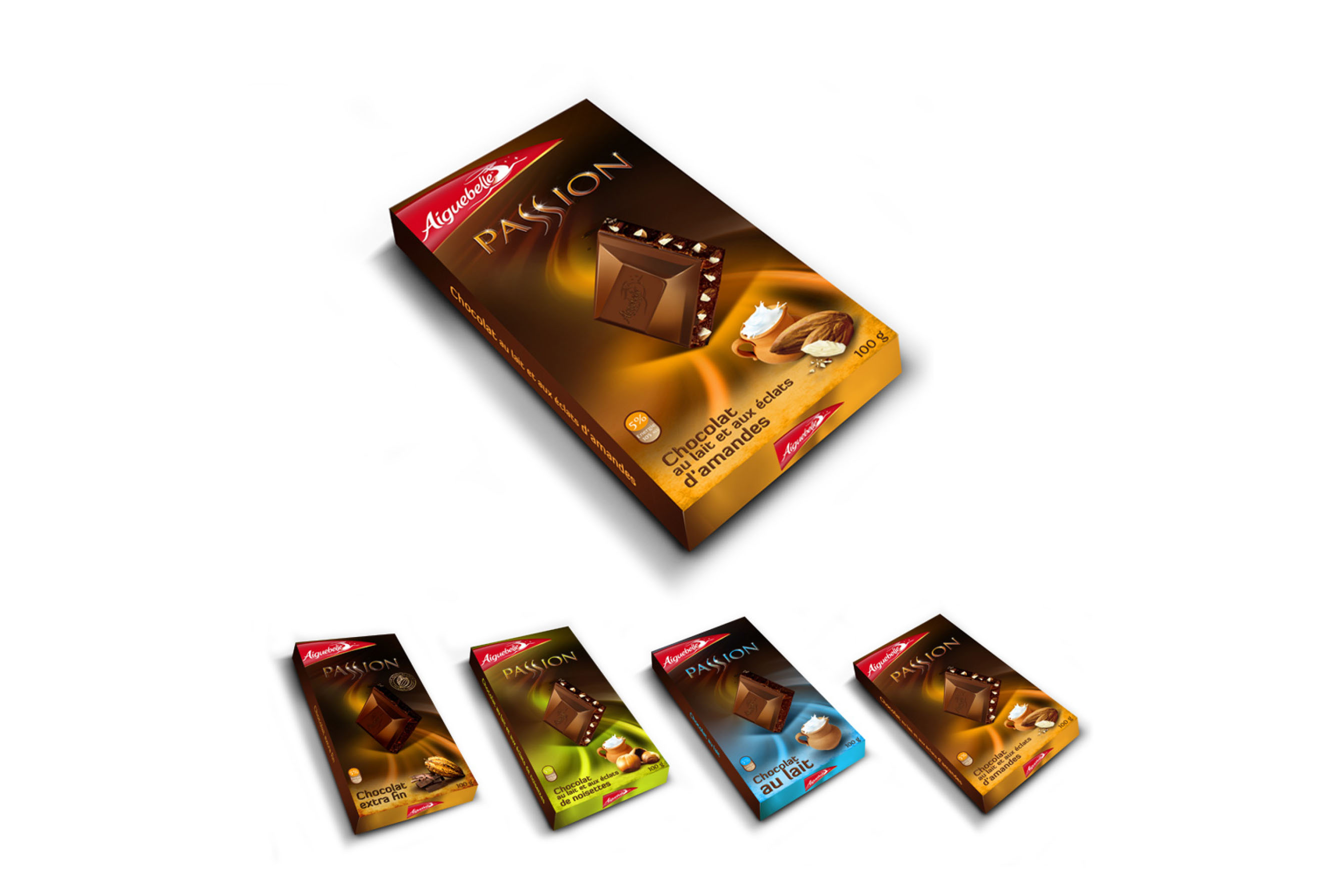 Conception Packaging Chocolat Aiguebelle Passion